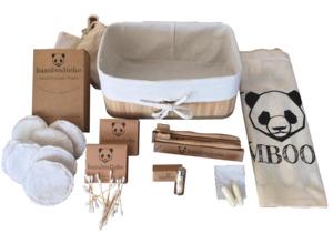 Bambus Geschenkkorb Set - bambusliebe