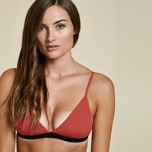Capri Triangle Top  - Woodlike Ocean