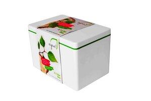 Die längliche Aufbewahrungsbox aus Biokunststoff 2,1 l - ajaa