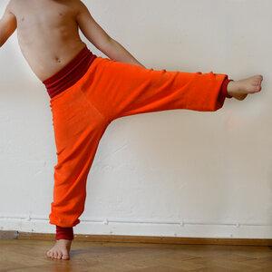 Nickihose für Kinder orange/rot - Cmig