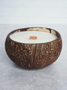 Kerze aus 100% Sojawachs mit Kokosduft  - Balu Bowls