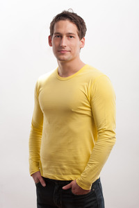 Longsleeve Shirt gelb *B-Ware* - 108 Degrees
