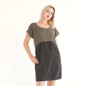 Kleid 'Too Olive' aus Tencel - WiDDA berlin