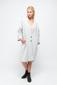 EILEEN - Damen Cardigan in Fleece-Optik aus Bio-Baumwolle   - SHIPSHEIP