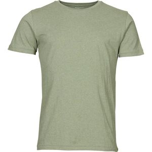 T-Shirt - Basic Regular Fit O-Neck Tee - KnowledgeCotton Apparel