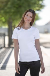 Damen T-Shirt von Neutral Bio Baumwolle Round Neck Interlock - Neutral