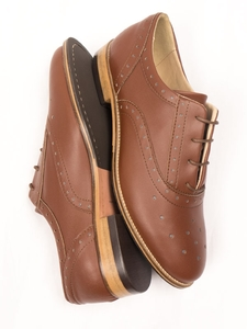 Perforierte Oxfords Damen - Will's Vegan Shop