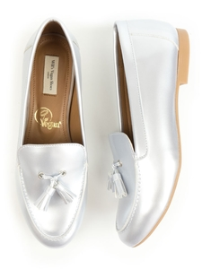 Tassle Loafer Silber Damen - Will's Vegan Shop
