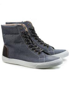 Sneaker-Stiefel Jeansblau Damen - Will's Vegan Shop
