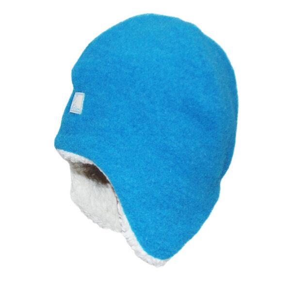 PICKAPOOH Baby//Kinder Schal aus reinem Bio-Wollfleece