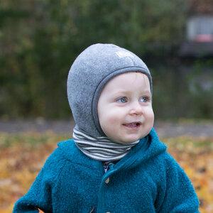 Baby Schlupfmütze Schlüpfli Bio-Wollfleece - Pickapooh