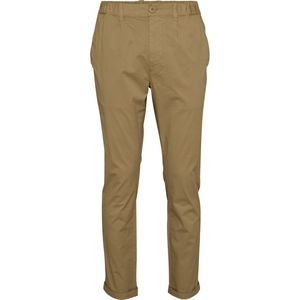 Stoffhose - Pant with turn up - KnowledgeCotton Apparel