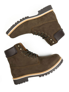 Dock-Boots Veganes Wildleder Herren - Will's Vegan Shop