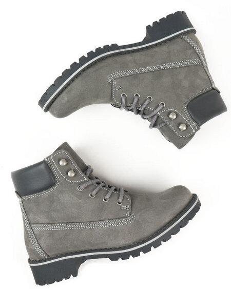 Dock-boots Veganes Wildleder Herren