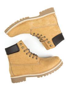 Dock-Boots Veganes Wildleder Herren - Will's Vegan Shop
