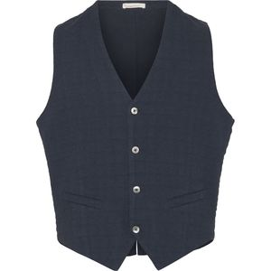 Weste - Structured Vest - Total Eclipse - KnowledgeCotton Apparel