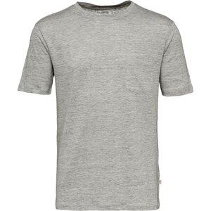 T-Shirt - Single Jersey Linen - KnowledgeCotton Apparel