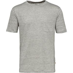 T-Shirt - Single Jersey Linen - KnowledgeCotton Apparel