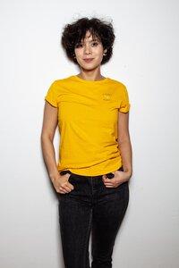 Shirt PLANET LOVE gold oder weiß - ALMA -Faire Streetwear & Schmuck-