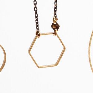"""Kette """"MAJA"""" in 3 Formen - ALMA -Faire Streetwear & Schmuck-"""