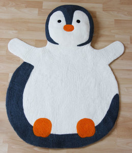 Teppich PINGUIN, Wollfilz - GLOBO