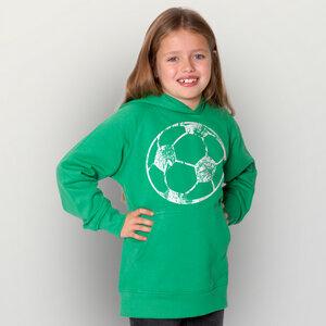 """Fußball"" Kinder-Hoody  - HANDGEDRUCKT"