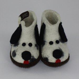 Hausschuhe - Baby Dogs Dalmatiner - mongs®