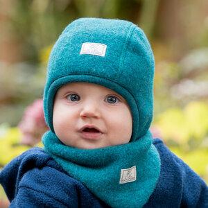 Baby Wendemütze Luc Bio-Schurwollfleece - Pickapooh