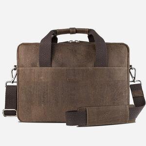 Kork Briefcase Akten-/Laptop-Tasche - corkor