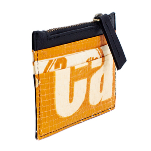 Recycling Credit Card Holder - Orange Camel - Elephbo