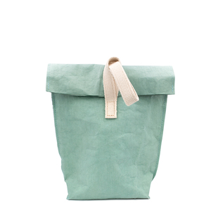 Lunchbag, Pausenbrot Tüte | wasserfester Picknick Beutel m. Isolierung - heyholi
