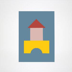 Bauklotz Poster #1 - Kleinwaren / von Laufenberg