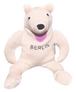 "Kuscheltier Mini Snowwhite von ""Teenytini"" aus 100% Biobaumwolle - Teenytini Softart - Made in Berlin"