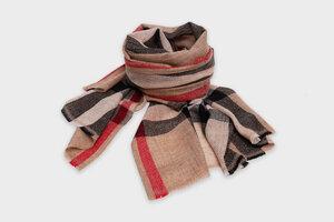 HH Kaschmir-Schal aus recycelter Ziegenwolle, trachtig (Cashmere) - Himal Hemp