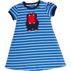 'Green Cotton' Streifen-Kleid Hippo - Green Cotton
