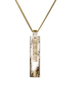 Beton Halskette Kette - 925 Silber GOLD - Ovisproducts