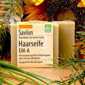 Savion EM-A Haarseife 85g - Savion feine Seifen