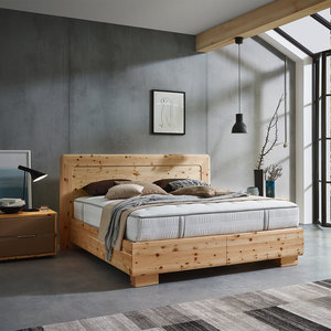 Boxspringbett aus 100 % Zirbenholz | Handmade in Austria - 4betterdays