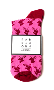 "Unisex Socken ""Flo"" - Rabbicorn Fashion"