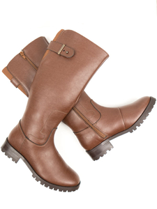 Kniehohe Stiefel Damen 01-01-49 - Will's Vegan Shop