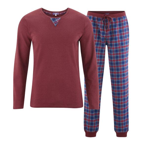 7b129aa639985 Living Crafts - Herren Schlafanzug FINN