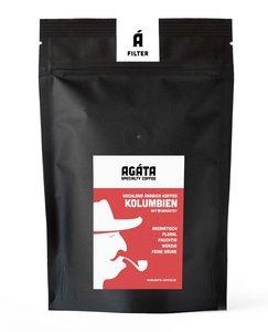 Kolumbien, Filferkaffee oder Espresso, ganze Bohne oder gemahlen - AGÁTA Rösterei & Café