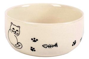 Katzennapf aus Keramik - Fairtrade Keramiknapf - El Puente