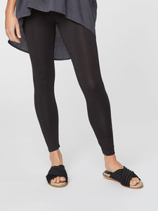 Leggings – Basic Bamboo Heavy Weigh – Schwarz - Thought