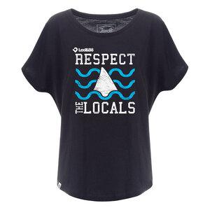Respect the Locals Damen Oversized T-Shirt - Lexi&Bö