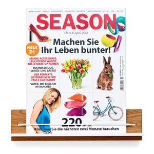 Zeitschriftenhalter - klotzaufklotz