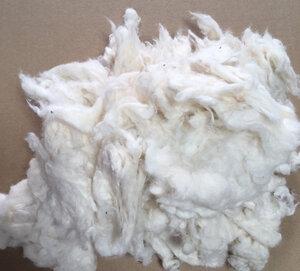 Bastellwatte aus 100% Baumwolle-kbA /Fairtrade,GOTS, weiss, spielzeugtauglich DIN EN 71-3 - Pat und Patty