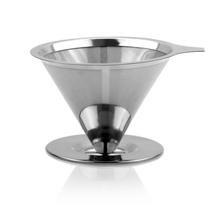 Nachhaltiger zero waste Kaffee Filter - Der wiederverwendbare Edelstahl-Filter  - avoid waste