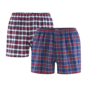 Herren Web Boxer Shorts BORIS 2er Pack - Living Crafts