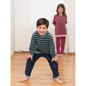 Kinder Frottee-Schlafanzug BEAVER - Living Crafts